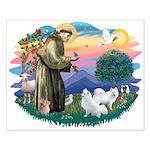 St Francis #2/ Am Eskimo (2) Small Poster