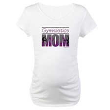 Gymnastics Mom - Purple Flames Shirt