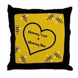 Honey Do Pretty Pillows Throw Pillow