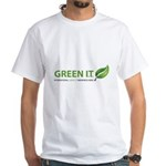 GreenITWeek.ORG White T-Shirt