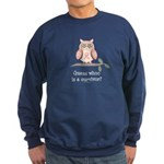 Pink Ribbon Owl Survivor Sweatshirt (dark)
