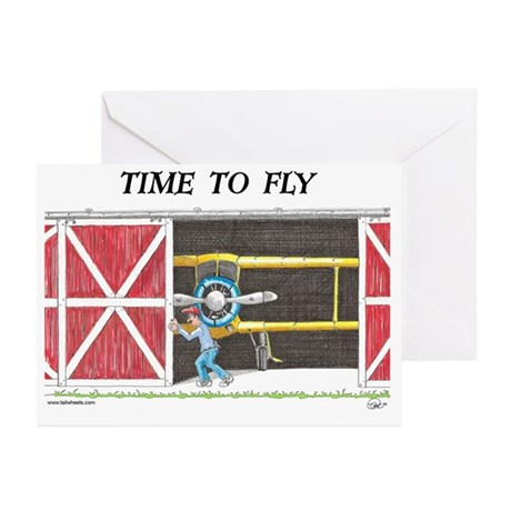 Time to Fly Greeting Cards (Pk of 10)