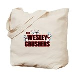 Wesley Crushers Tote Bag - Be a part of the best bowling team for geeks - The Wesley Crushers! This merchandise will make a bang with your friends. A big one. In theory.