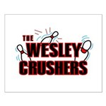 Wesley Crushers Small Poster - Be a part of the best bowling team for geeks - The Wesley Crushers! This merchandise will make a bang with your friends. A big one. In theory.