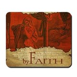 By Faith: Hannah Prayed (Mousepad)