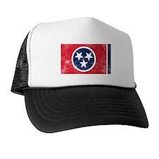 Vintage TN State Flag Trucker Hat