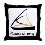 kamusi.org Throw Pillow