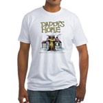 Daddy's Home Yellow Ribbon Fitted T-Shirt