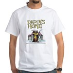 Daddy's Home Yellow Ribbon White T-Shirt