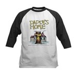 Daddy's Home Yellow Ribbon Kids Baseball Jersey