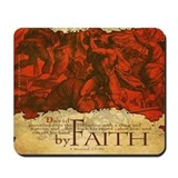 By Faith: David and Goliath (Mousepad)