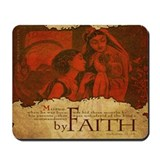 By Faith: Baby Moses Was Hidden (Mousepad)