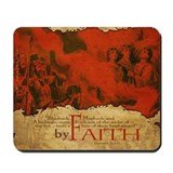 By Faith: Shadrach, Meshach, Abednego (Mousepad)