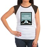I have Daughters Women's Cap Sleeve T-Shirt