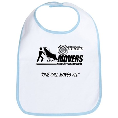 Orchid Movers LOST Bib