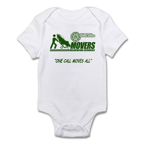 Orchid Movers LOST Infant Bodysuit