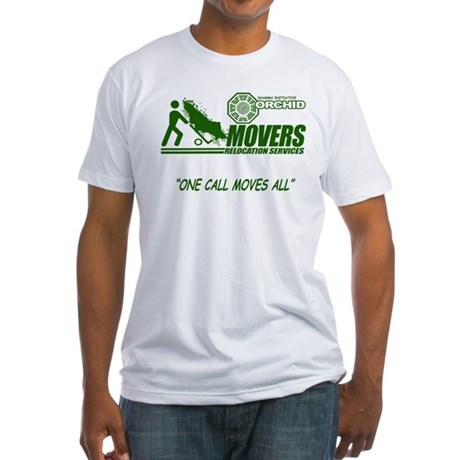 Orchid Movers LOST Fitted T-Shirt