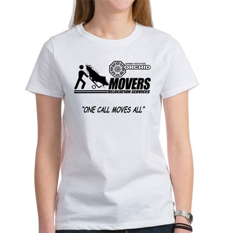 Orchid Movers LOST Womens T-Shirt