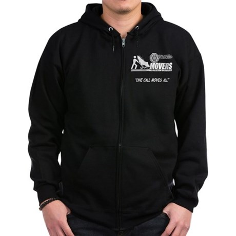 Orchid Movers LOST Zip Dark Hoodie