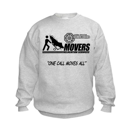 Orchid Movers LOST Kids Sweatshirt