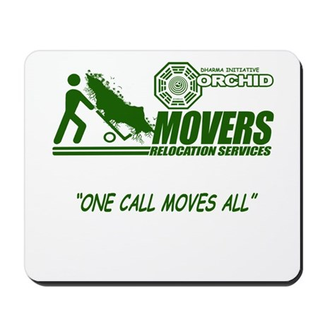 Orchid Movers LOST Mousepad