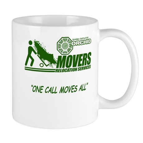 Orchid Movers LOST Mug