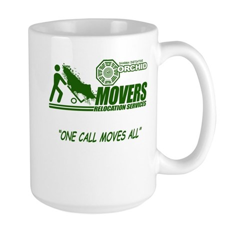 Orchid Movers LOST Large Mug