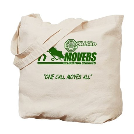 Orchid Movers LOST Tote Bag