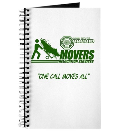 Orchid Movers LOST Journal