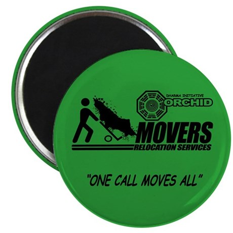 Orchid Movers LOST Magnet