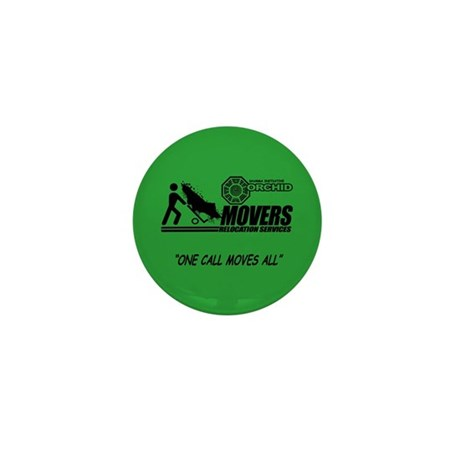 Orchid Movers LOST Mini Button