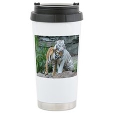 Ceramic Travel Mug-Tigers