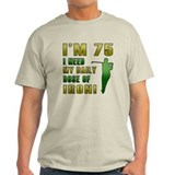 75th Birthday Golf Humor T-Shirt
