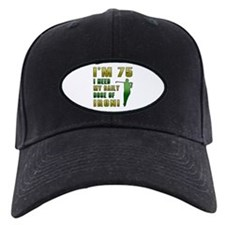 75th Birthday Golf Humor Baseball Hat