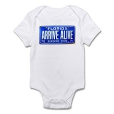 Florida State Trooper ARRIVE ALIVE Infant Bodysuit