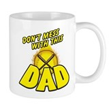 Softball Dad Coffee Mug