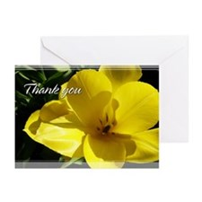 Yellow Tulips Thank You Cards 5x7 (Pk of 10)