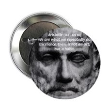 Greek Education Aristotle Button