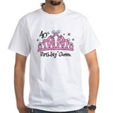 Tiara 40th Birthday Queen Shirt