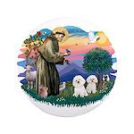 St Francis #2/ Bichon (2) 3.5