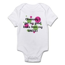 Good Looks From Uncle Infant Bodysuit