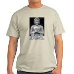 Buddha Education of Mind Ash Grey T-Shirt