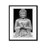 Buddha Education of Mind Framed Panel Print