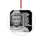 Buddha Education of Mind Ornament (Round)
