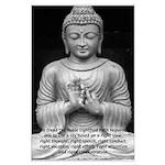 Buddha Education of Mind Large Poster