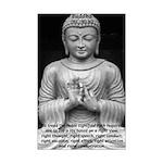 Buddha Education of Mind Mini Poster Print