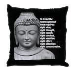Buddha Education of Mind Throw Pillow
