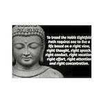 Buddha Education of Mind Rectangle Magnet