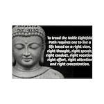 Buddha Education of Mind Rectangle Magnet (10 pack