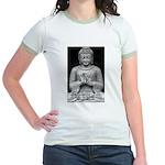 Buddha Education of Mind Jr. Ringer T-Shirt